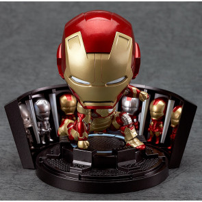 Nendoroid - Iron Man and Iron Patriot Hero's Edition